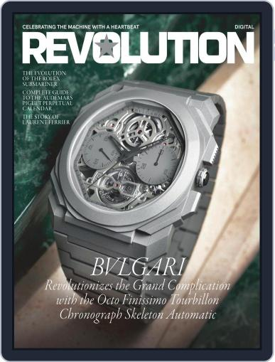 REVOLUTION Digital Magazine September 11th, 2020 Issue Cover