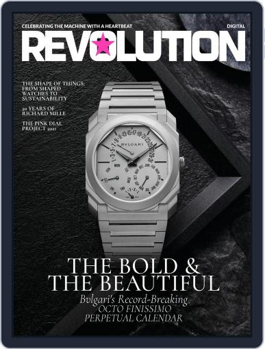 REVOLUTION WATCH Magazine (Digital) August 16th, 2021 Issue Cover
