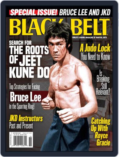 Black Belt Magazine (Digital) October 1st, 2021 Issue Cover