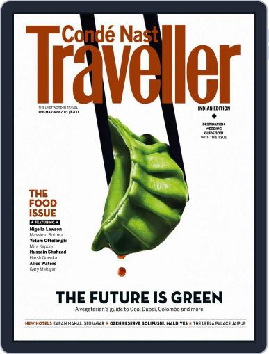 Conde Nast Traveller India Magazine (Digital) February 1st, 2021 Issue Cover