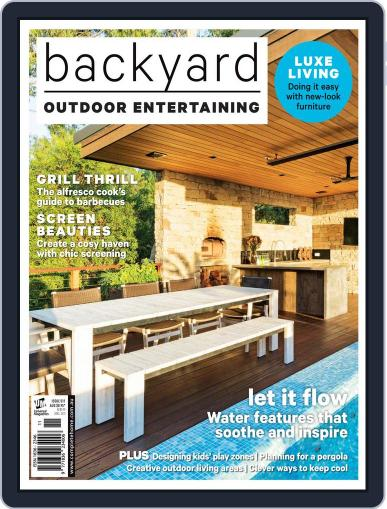 Outdoor Entertaining September 27th, 2017 Digital Back Issue Cover