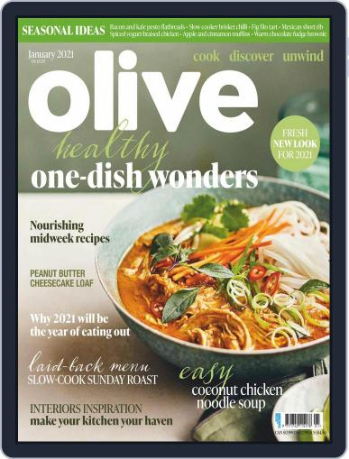 Olive Magazine (Digital) January 1st, 2021 Issue Cover