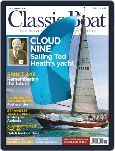 Classic Boat Magazine (Digital) November 1st, 2020 Issue Cover