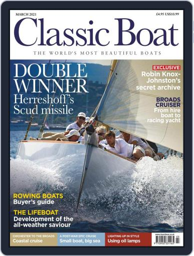 Classic Boat Magazine (Digital) March 1st, 2021 Issue Cover