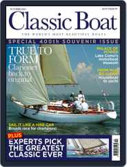 Classic Boat Magazine (Digital) Subscription October 1st, 2021 Issue