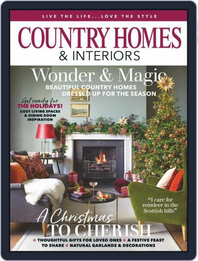 Country Homes & Interiors Magazine (Digital) December 1st, 2020 Issue Cover