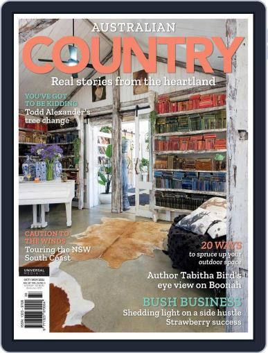 Australian Country Magazine (Digital) October 1st, 2021 Issue Cover