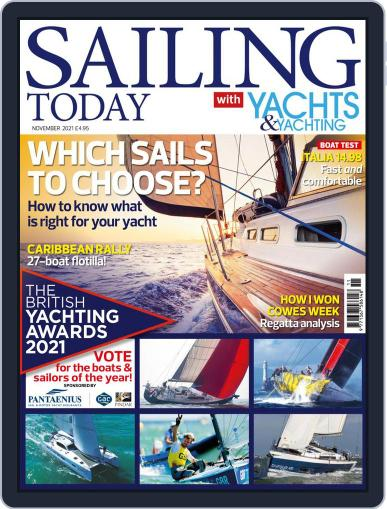Sailing Today Magazine (Digital) November 1st, 2021 Issue Cover
