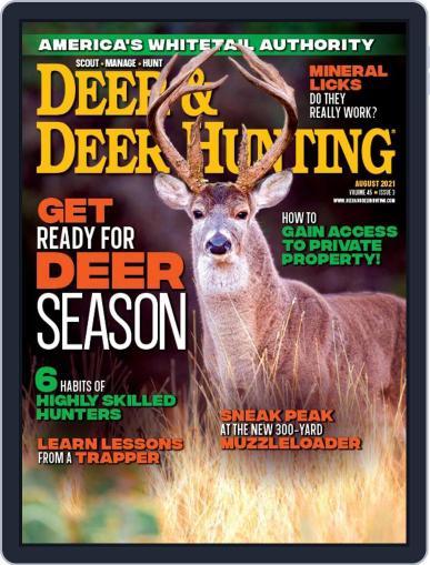 Deer & Deer Hunting Magazine (Digital) August 1st, 2021 Issue Cover