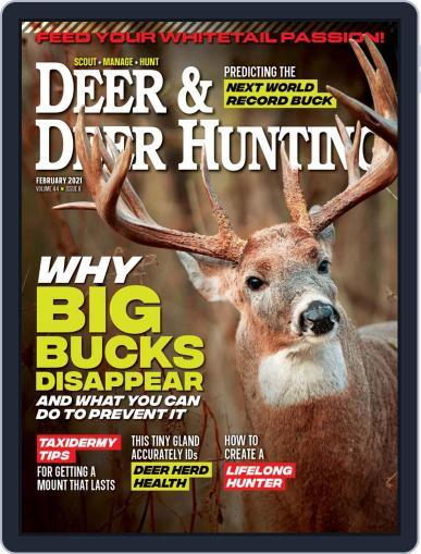 Deer & Deer Hunting Magazine (Digital) February 1st, 2021 Issue Cover