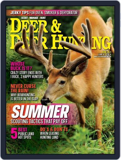 Deer & Deer Hunting Magazine (Digital) June 1st, 2021 Issue Cover