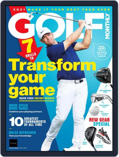 Golf Monthly Magazine (Digital) March 1st, 2021 Issue Cover