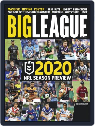 Big League Weekly Edition February 1st, 2020 Digital Back Issue Cover
