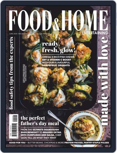 Food & Home Entertaining May 1st, 2020 Digital Back Issue Cover