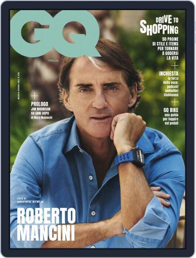Gq Italia Magazine (Digital) May 1st, 2021 Issue Cover