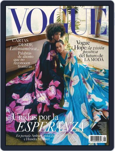 Vogue Latin America Magazine (Digital) September 1st, 2020 Issue Cover