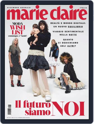 Marie Claire Italia Magazine (Digital) December 1st, 2020 Issue Cover