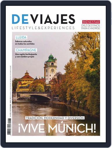 De Viajes Magazine (Digital) November 1st, 2020 Issue Cover