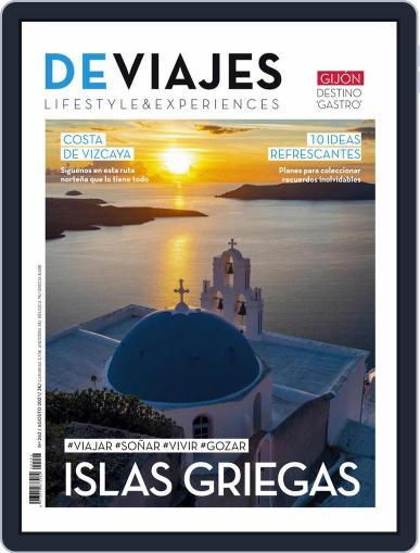 De Viajes August 1st, 2021 Digital Back Issue Cover