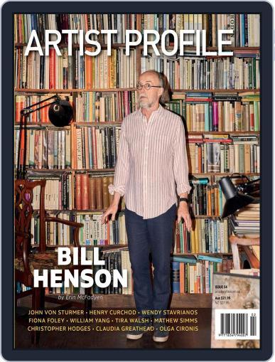 Artist Profile Magazine (Digital) April 9th, 2021 Issue Cover