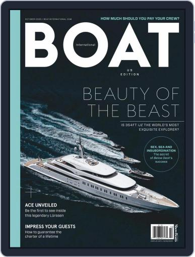 Boat International US Edition Magazine (Digital) October 1st, 2020 Issue Cover
