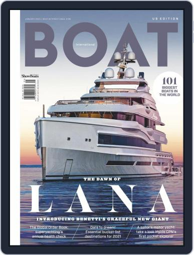 Boat International US Edition Magazine (Digital) January 2nd, 2021 Issue Cover