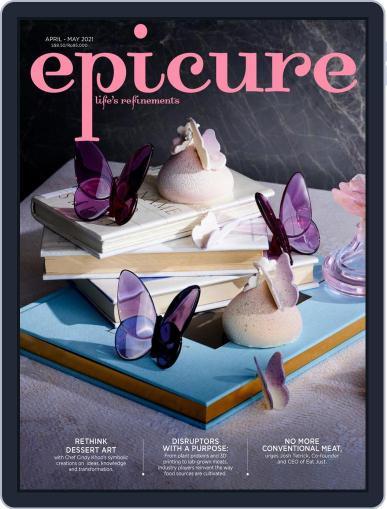 epicure Magazine (Digital) April 1st, 2021 Issue Cover