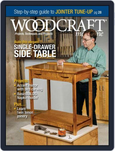 Woodcraft Magazine (Digital) August 1st, 2020 Issue Cover