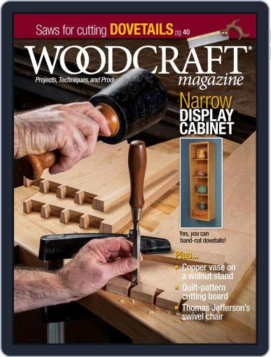 Woodcraft Magazine (Digital) February 1st, 2021 Issue Cover