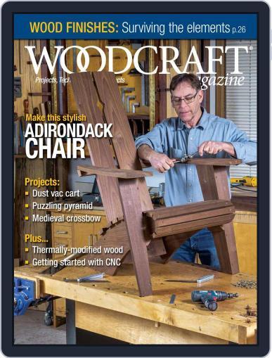 Woodcraft Magazine (Digital) June 1st, 2021 Issue Cover