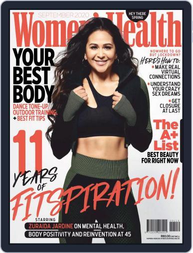 Women's Health South Africa (Digital) September 1st, 2020 Issue Cover