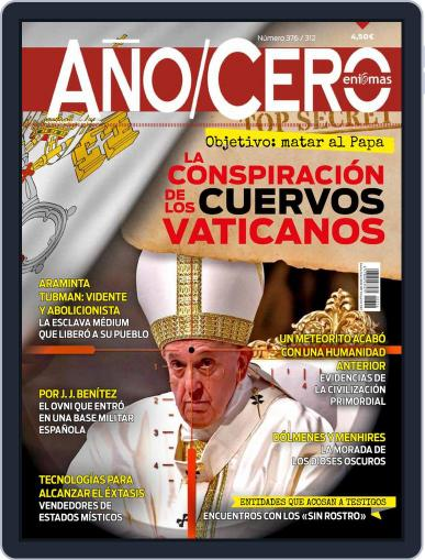 Año Cero Magazine (Digital) November 1st, 2021 Issue Cover