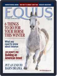 Equus Magazine (Digital) Subscription October 26th, 2020 Issue