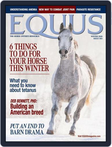 Equus Magazine (Digital) October 26th, 2020 Issue Cover