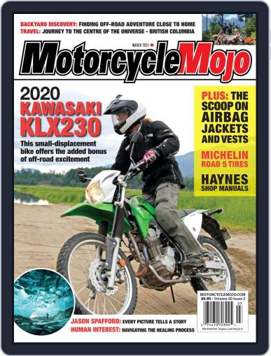 Motorcycle Mojo Magazine (Digital) March 1st, 2021 Issue Cover