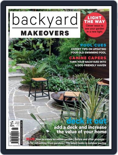 Backyard Makeovers April 21st, 2016 Digital Back Issue Cover