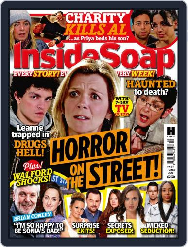Inside Soap UK Magazine (Digital) February 27th, 2021 Issue Cover