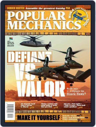 Popular Mechanics South Africa Magazine (Digital) July 1st, 2021 Issue Cover