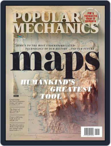 Popular Mechanics South Africa Magazine (Digital) March 1st, 2021 Issue Cover