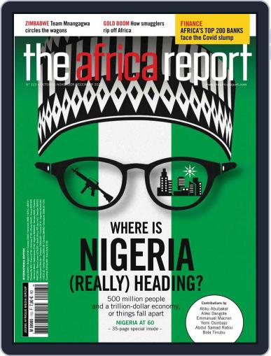 The Africa Report Magazine (Digital) October 1st, 2020 Issue Cover