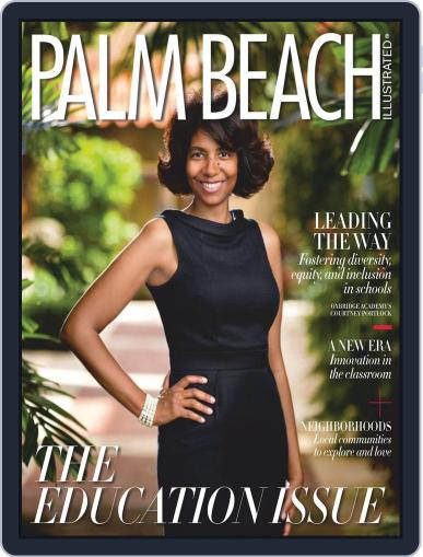 Palm Beach Illustrated Magazine (Digital) September 1st, 2020 Issue Cover