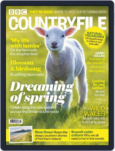Bbc Countryfile Magazine (Digital) March 1st, 2021 Issue Cover