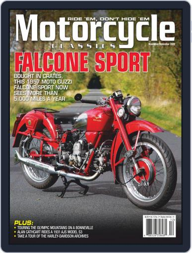 Motorcycle Classics Magazine (Digital) November 1st, 2020 Issue Cover