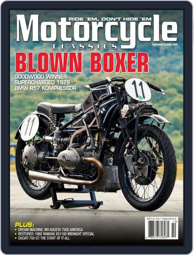 Motorcycle Classics Magazine (Digital) September 1st, 2020 Issue Cover