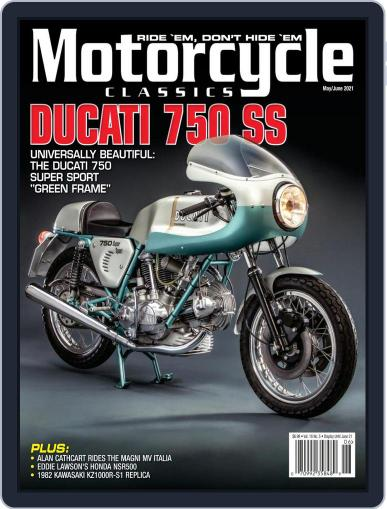 Motorcycle Classics Magazine (Digital) May 1st, 2021 Issue Cover