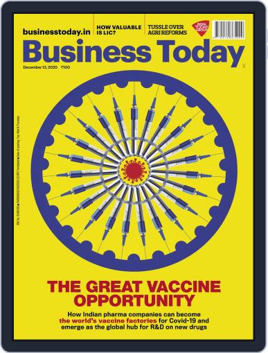 Business Today Magazine (Digital) December 13th, 2020 Issue Cover