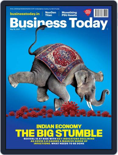 Business Today Magazine (Digital) May 16th, 2021 Issue Cover