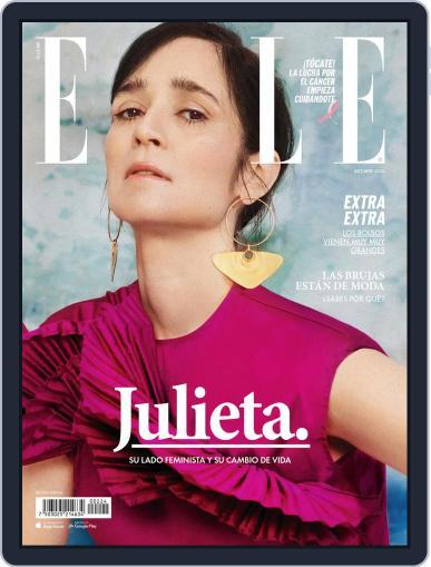 Elle México Magazine (Digital) October 1st, 2020 Issue Cover