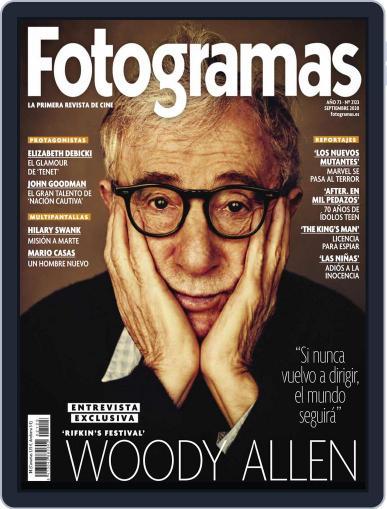 Fotogramas Magazine (Digital) September 1st, 2020 Issue Cover