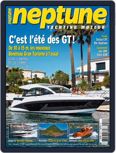 Neptune Yachting Moteur Magazine (Digital) July 1st, 2021 Issue Cover